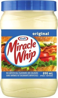 HEINZ KETCHUP, MIRACLE WHIP, SERIOUSLY GOOD MAYONNAISE, AIOLI, HP OR LEA & PERRINS SAUCE