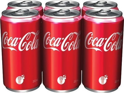 COCA‑COLA OR CANADA DRY MINI CANS