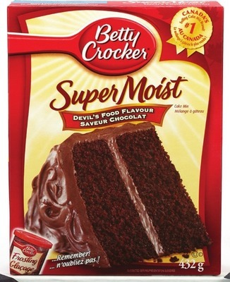 BETTY CROCKER CAKE MIX OR FROSTING
