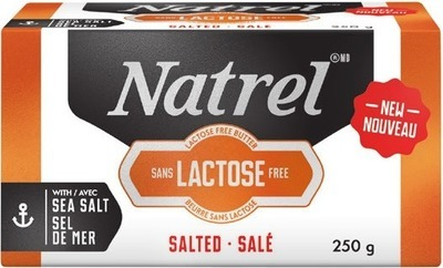 NATREL LACTOSE FREE SALTED BUTTER