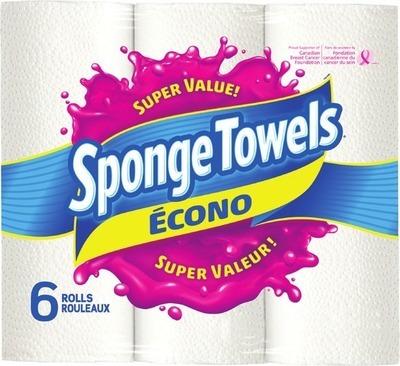 SPONGE TOWELS ECONO