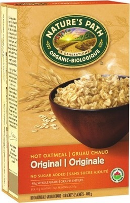 NATURE'S PATH ORGANIC CEREAL OR OATMEAL