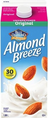 SO GOOD, SO NICE, ALMOND FRESH OR BLUE DIAMOND ALMOND BEVERAGES
