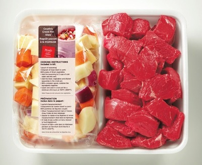 RED GRILL BEEF STEW SLOW COOKER KIT OR BONELESS INSIDE BLADE ROAST SLOW COOKER KIT