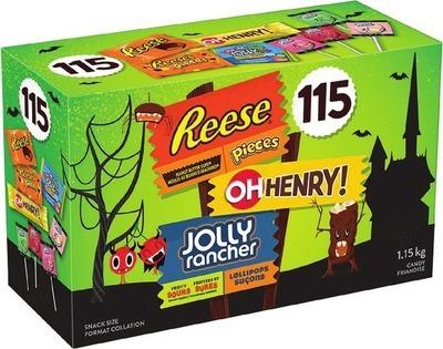 HERSHEY'S ASSORTED HALLOWEEN CHOCOLATE