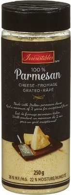 IRRESISTIBLES GRATED PARMESAN CHEESE