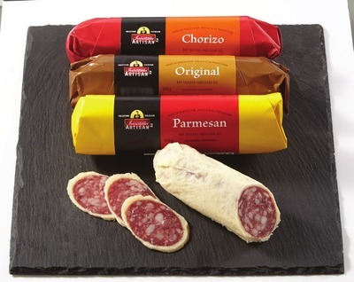 IRRESISTIBLES ARTISAN DRY SAUSAGE 300 G OR IRRESISTIBLES FRESH FILLED PASTA 1 KG