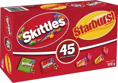 SKITTLES AND STARBURST HALLOWEEN CANDY
