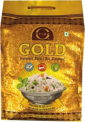 GELDA GOLD OR SELLA BASmATI RICE