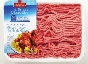 EXTRA LEAN GROUND BEEF VALUE PACK, BONELESS STEWING BEEF CUBES VALUE PACK 3.44/lb, 7.58/kg or IRRESISTIBLES LIFE SMART EXTRA LEAN GROUND CHICKEN OR TURKEY 450 g, 3.44 EA.