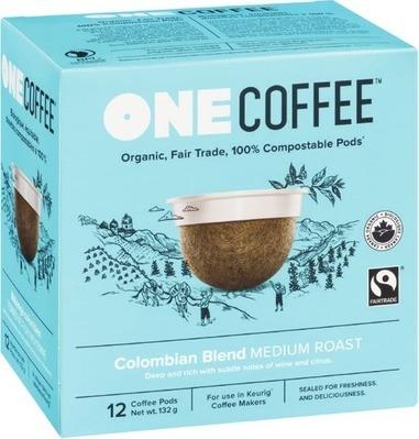 ONE COFFEE ORGANIC COFFEE PODS