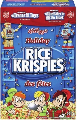 KELLOGG'S HOLIDAY RICE KRISPIES
