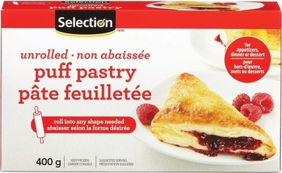 SELECTION PUFF PASTRY