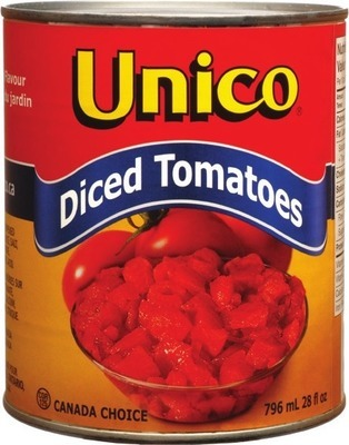 UNICO CANNED OLIVES OR TOMATOES