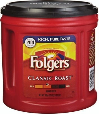 FOLGERS GROUND COFFEE 642 - 975 g or K-CUP COFFEE CAPSULES 12 un. or NABOB TASSIMO T DISC 8 - 14 un