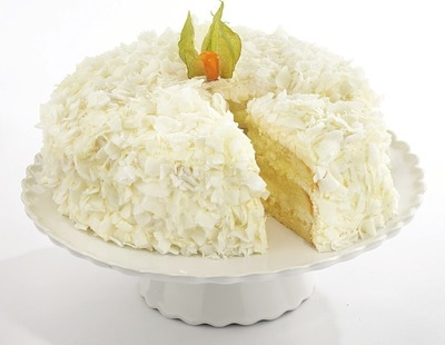 FRONT STREET BAKERY COCONUT SNOWFLAKE CAKE