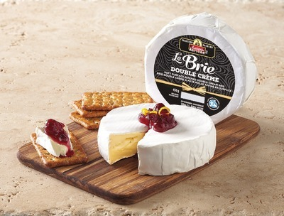 IRRESISTIBLES ARTISAN BRIE DOUBLE CRÈME CHEESE