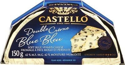 CASTELLO DOUBLE CRÈME BLUE OR CREAMY WHITE CHEESE