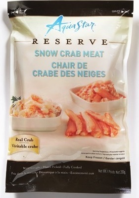 AQUA STAR SNOW CRAB MEAT
