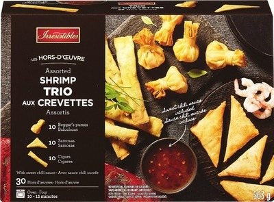 IRRESISTIBLES SHRIMP TRIO