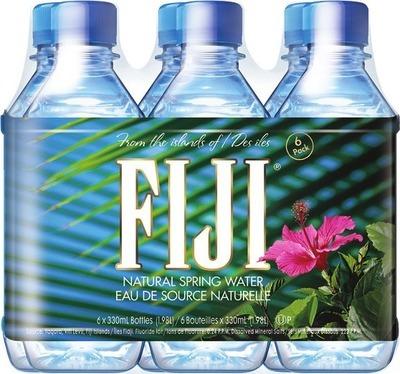 FIJI WATER 6 X 330 ml or IRRESISTIBLES SPARKLING WATER 10 X 296 ml