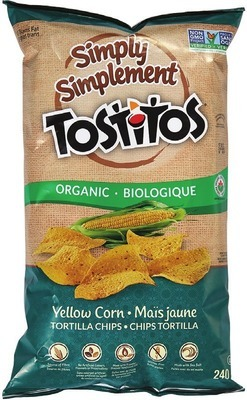 TOSTITOS SIMPLY SALSA OR TORTILLA CHIPS