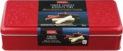 IRRESISTIBLES CHOCOLATE COVERED FINGER COOKIES