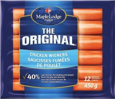 MAPLE LODGE CHICKEN WIENERS