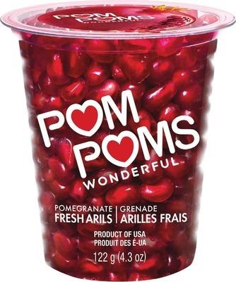 BLUEBERRIES 170 g PRODUCT OF PERU, No. 1 GRADE POM WONDERFUL FRESH POMEGRANATE ARILS 122 g, PRODUCT OF U.S.A.