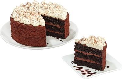 IRISH CREAM HOT CHOCOLATE CAKE