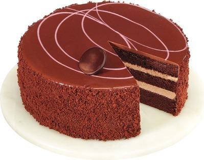 MILK CHOCOLATE RASPEBRRY CAKE