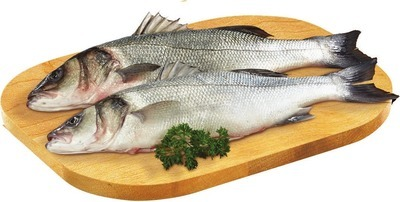 FRESH WHOLE MEDITERRANEAN SEA BASS OR STUFFED