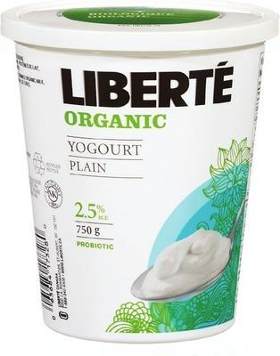 LIBERTÉ ORGANIC YOGURT