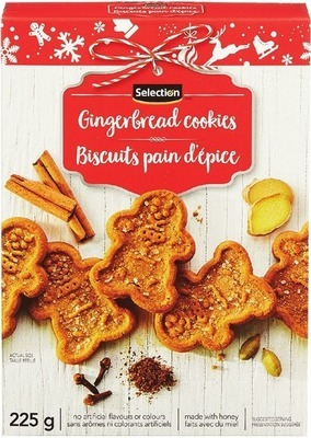 SELECTION GINGERBREAD COOKIES