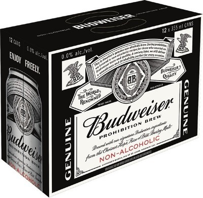 BUDWEISER PROHIBITION BEER