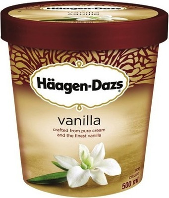 HÄAGEN-DAZS ICE CREAM,FROZEN DESSERT, NOVELTIES OR GOODNORTH ICE MILK