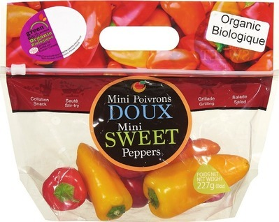 ORGANIC MINI SWEET PEPPERS