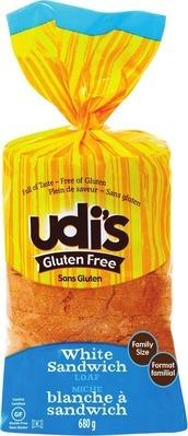 UDI'S GLUTEN FREE BREADS OR BAGELS
