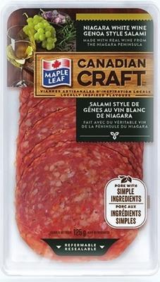MAPLE LEAF CANADIAN CRAFT SLICED DELI MEATS