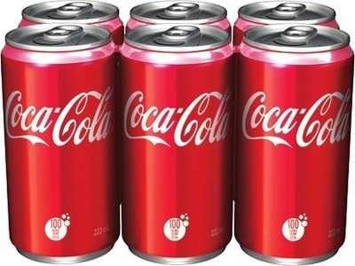 COCA-COLA SOFT DRINKS 6 X 222 ml or IRRESISTIBLES COOKIES 300 - 350 g