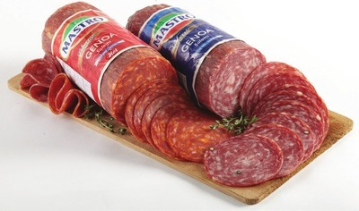 MASTRO MILD OR HOT GENOA SALAMI OR PROVOLONE CHEESE