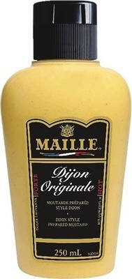 MAILLE MUSTARD, TABASCO SAUCE OR HIDDEN VALLEY SALAD DRESSING