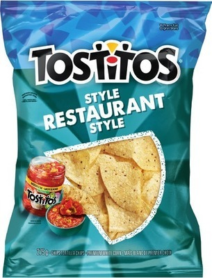TOSTITOS TORTILLA OR MISS VICKIE'S CHIPS 205 - 295 G OR SALSA 416 - 423 ML OR 3.99 EA.