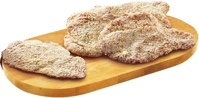 FRESH BREADED AND TENDERIZED CHICKEN OR TURKEY BREAST CUTLET VALUE PACK