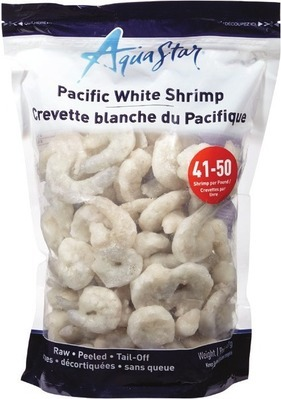 AQUA STAR PACIFIC WHITE RAW SHRIMP