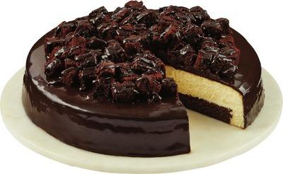 Front Street Bakery Chocolate Ganache Cheesecake
