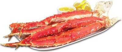 KING CRAB LEGS 19.99/LB, 4.41/100 G OR COOKED SHRIMP 26 - 30 SIZE OR RAW SHRIMP 16 - 20 SIZE, 908 G