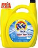 Tide Simply Clean & Fresh Liquid, 115 - 138 oz., 74 - 89 loads, or PODS Laundry Detergent, 43 ct.