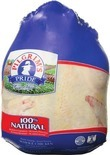 Pork Picnic Roast bone-in, sold whole in the bag, or Pilgrim's Pride 100% Natural Whole Chicken