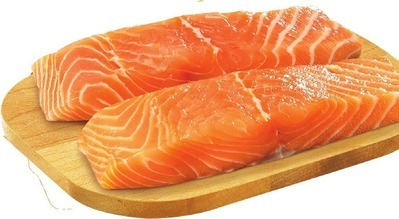 FRESH ATLANTIC SALMON PORTIONS SKIN ON OR SKINLESS ICELANDIC COD PORTIONS
